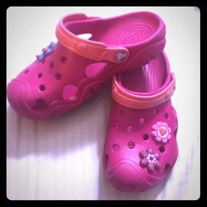 Other - Crocs Girls pink